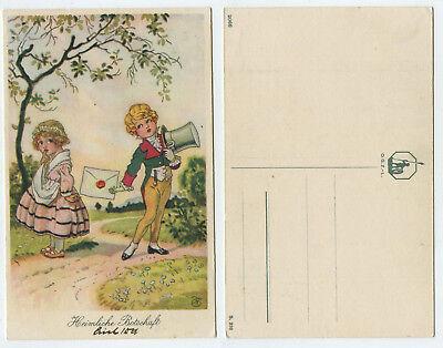 51768 - Heimliche Botschaft - Kinder im historischen Kostüm - alte (Kostüm Heimlich)