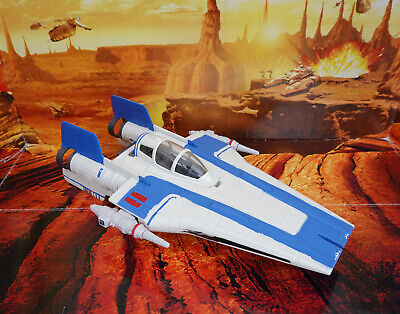 STAR WARS VEHICLE 2017 THE LAST JEDI  COLLECTION RESISTANCE A-WING FIGHTER