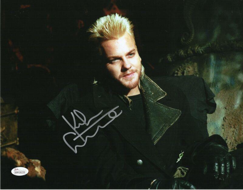 Kiefer Sutherland Autograph 11x14 Photo The Lost Boys Signed JSA COA Z3