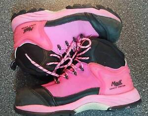 MACK SAFETY BOOTS McGRATH CHARITY EDITION PPE Gosford Gosford Area Preview