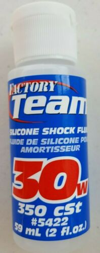 Factory Team Associated Silicone Shock Oil 30WT / 350cSt #5422 59mL 2 fl.oz.
