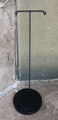 Vintage Barbie Doll Black R Pedestal Stand #3 Or #4 Nice!