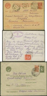 Germany Enclaves In Russia 1927 41  Three Items