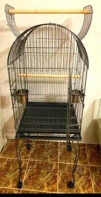 jaula con pie para loro - en su caja sin abrir