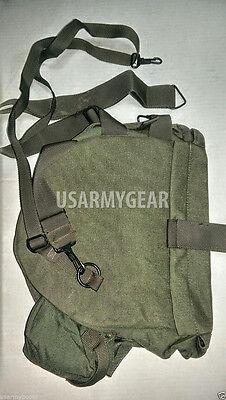 New Made in USA M40 Gas Mask Bag Carrier w Shoulder Strap Bug Out Survival USGI for sale  Nyack