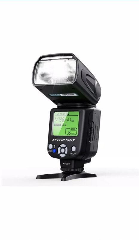 Camera Flash for Canon,DSLR Camera,E-TTL 1/8000 HSS GN58,Multi,ESDDI Wireless