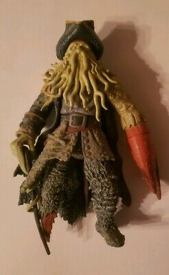 Disney Zizzle Pirates of the CaribbeanClaw Snapping Davy Jones Action Figure](Davy Jones Pirates Of The Caribbean)