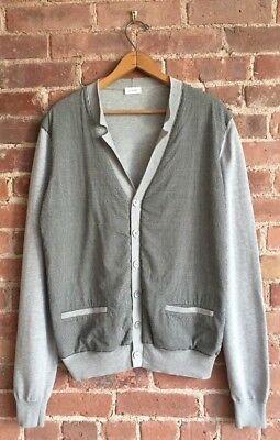 Jil Sander Men's Cardigan Sweater, Sz 48 Small Italy