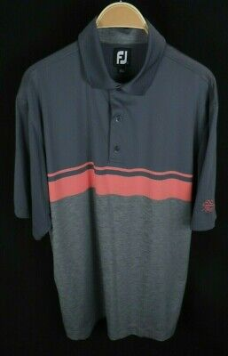 Mens Footjoy FJ Bentwinds Country Club NC S/S Polo Style Golf Shirt Size L Large (Ncs Nightclub)
