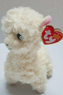 Lily llama TY Beanie Babies  Plush stuffed animal 8