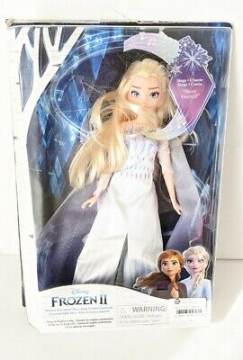 Disney Frozen 2 Musical Adventure Singing ELSA Doll (Snow Queen Outfit)