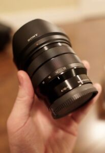 Sony 10-18 mm f/4 OSS Lens - Mint Condition!