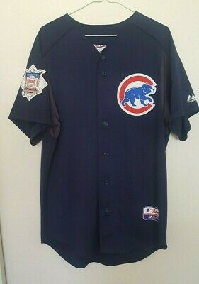 Chicago Cubs Majestic Batting Practice Spring Training Jersey Mens Size Medium Chicago Cubs Batting Practice Jersey