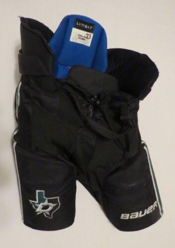 "Used Bauer Nexus Pro Stock Dallas Stars Hockey Pants Game Used Large +1"" Vapor"