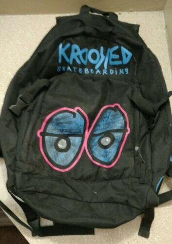 Krooked Eyes Skateboard Backpack