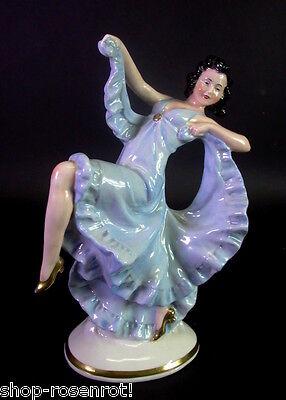 Art Deco Tänzerin - alter Rauchverzehrer