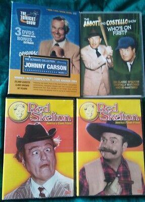 Faveorite episodes of Abbott & Costello, Johnny Carson, & Red Skeleton  for sale  Zanesville