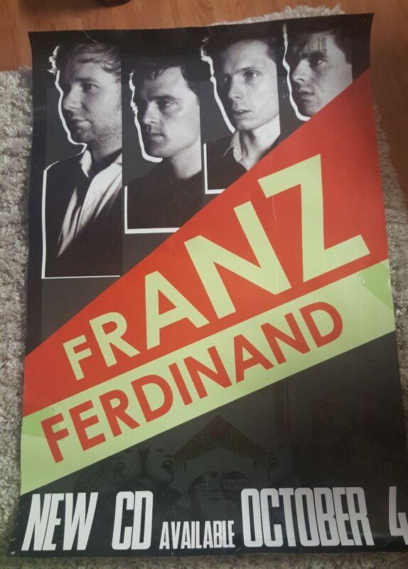 FRANZ FERDINAND Canada Promo Poster 24x34
