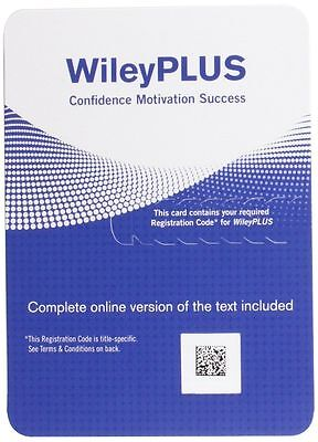 Wiley Plus Access Code    Delivery Thru Ebay Messageing
