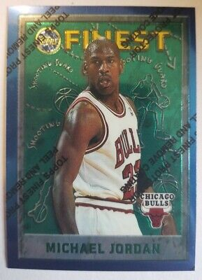 1995-96 Finest Michael Jordan With Protective Coating Card # 229