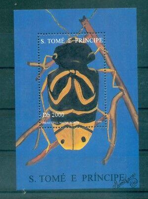 SCARAFAGGI - BEETLES S. TOME' E PRINCIPE 1996 block