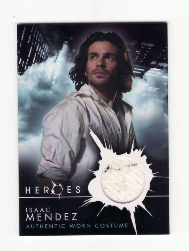 HEROES TV Series Pieceworks Prop Card Isaac Mendez Clothing Piece Paint