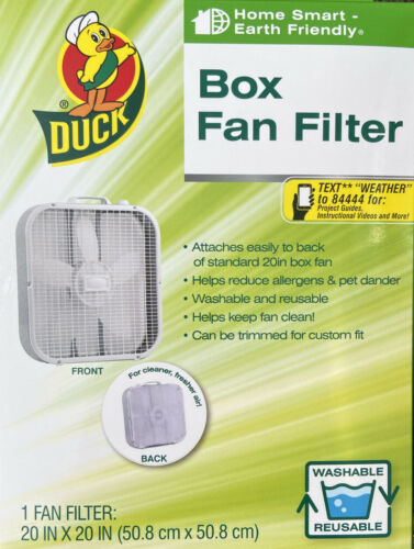 Box Fan Filter 20 Inch Can Be Adjusted Duck Brand Reduce All