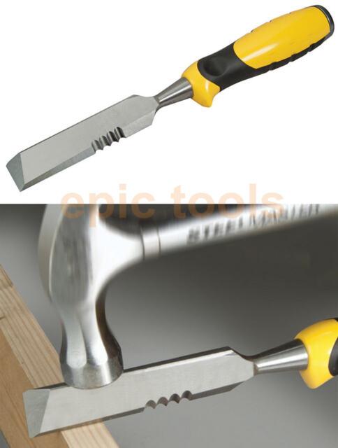 """NEW Stanley FatMax 25mm 1"""" Wood Wrecking Chisel Scraper Splitter Knife, 016067"""