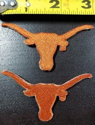 LOT OF 2 Univ. Texas Longhorns Steer Logo 3