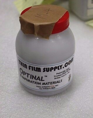 Optinal Evaporation Material Titanium Dioxide Tio2 99.9 8x6 Mm 1 Kg Mb40