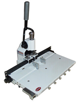Single Hole Punch Machine Heavy Duty Manual Paper Hole Drill With Moving Table M