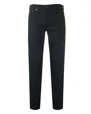 Genuine LEVIS 512 Slim Taper Fit Stretch Mens Jeans Black Nightshine