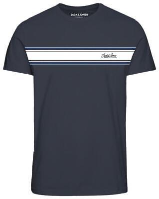 Jack & Jones Originals Range Traffic T-Shirt In Navy 5XL 6XL 7XL 8XL