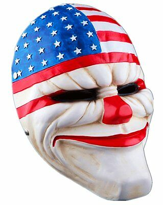 Cosplay Payday 2 Dallas Halloween Party Mask Decorative Resin Collection - Payday 2 Halloween Masks