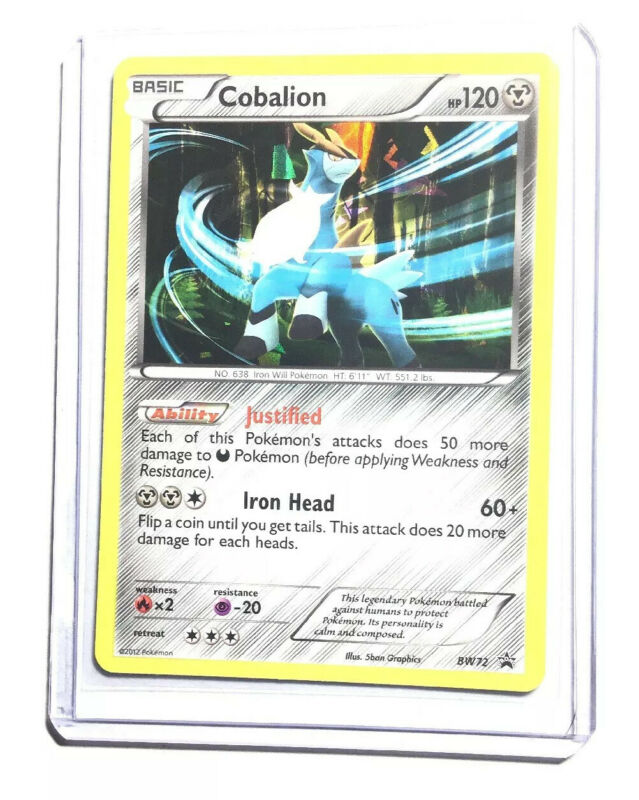 4 X COBALION 74//114 World Championship PROMO Rare Pokemon TCG