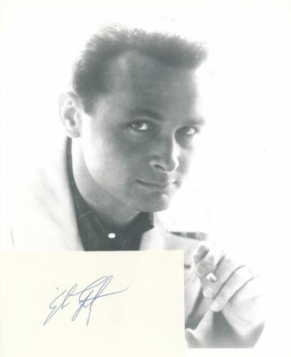 Stan Getz- Signed Index Card w/Photograph