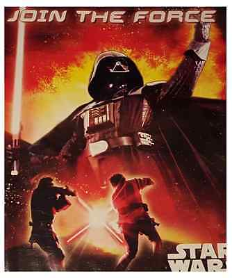 Join The Force STAR WARS Birthday Party Invitations & Envelope 6 Pk Invite Cards