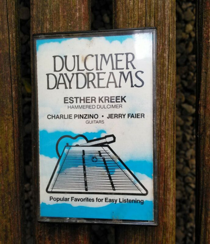 Esther Kreek - Dulcimer Daydreams - Cassette Charlie Pinzino Jerry Faier