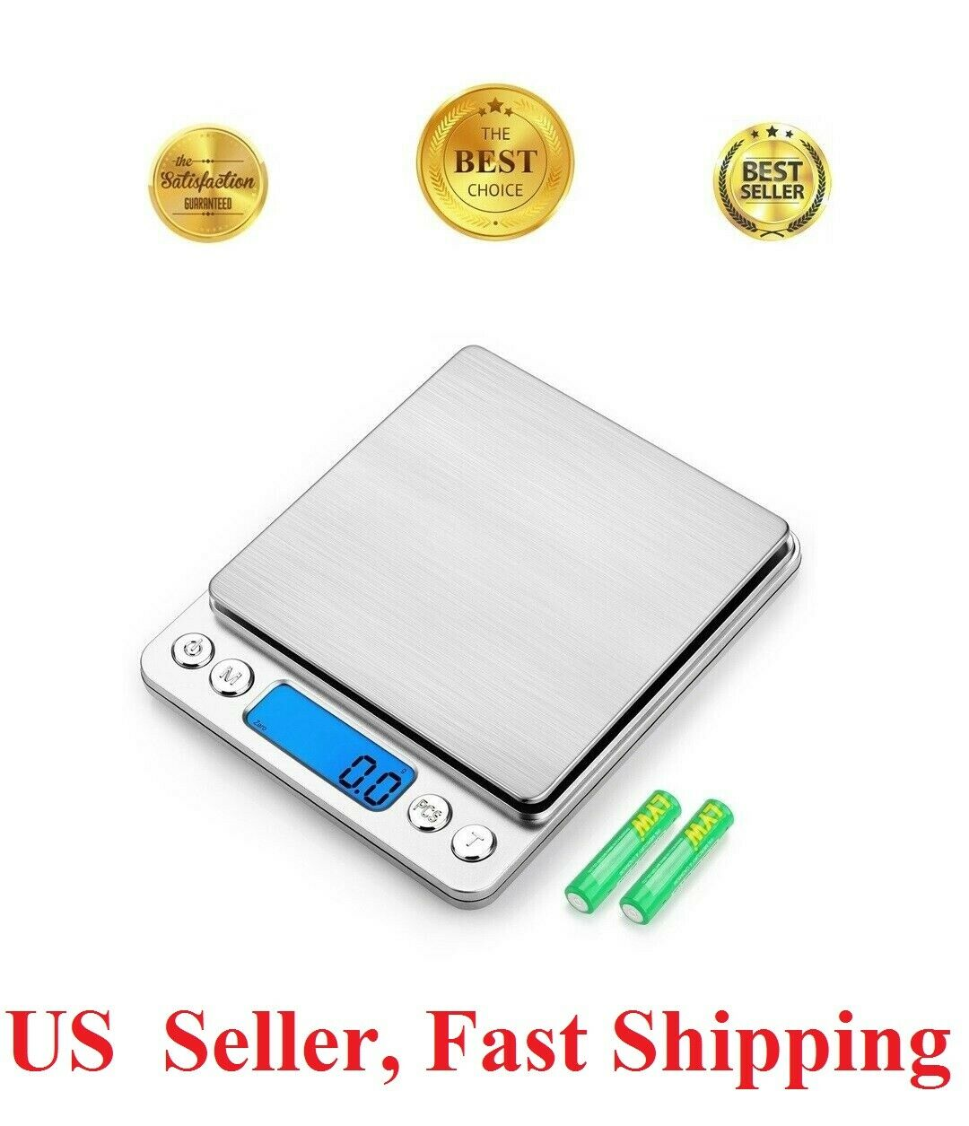 Mini Digital Scale 3000g x 0.1g, oz, ounce Jewelry gold,Gram Pocket Herb kitchen Jewelry & Watches