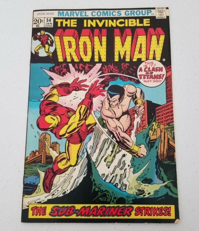 Invincible Iron Man #54 Marvel