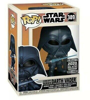 Funko Pop! Star Wars Darth Vader #389 Concept Series Galactic Convention 2020