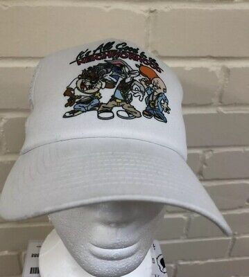 New Era Space Jam Looney Tunes Vintage Retro Cap Snapback Hat 9/10 Condition 90s