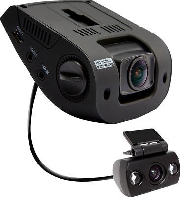 Rexing - V1P Dual Dash Camera - Black