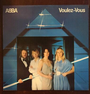 """ABBA - Voulez-Vous - 12"""" Vinyl Record LP - EX"""