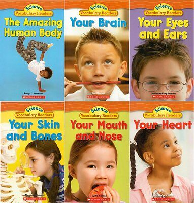 - SCIENCE VOCABULARY READERS  The Human Body Science Vocabulary Readers 6-Book Set