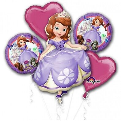 Sofia The First Bouquet Anagram Balloon Birthday Party Decorations - Sofia The First Birthday Party Decorations