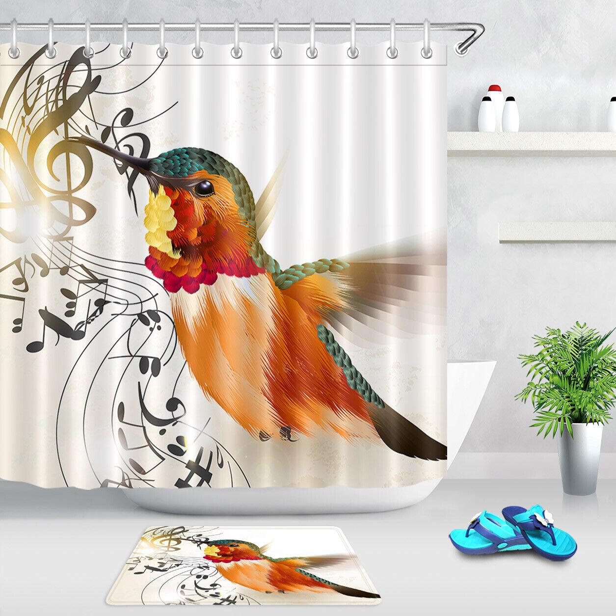 Shower Curtain Set Bathroom Fabric