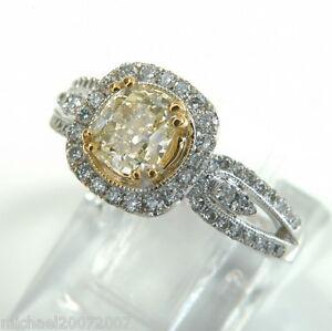 2-05-ct-Fancy-Yellow-Diamond-Ring-CUSHION-Cut-18-K-white-Gold