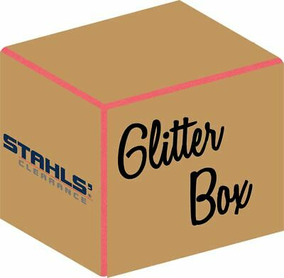 15 Glitter Sheets - Box Of Htv Sheets - Stahls Clearance Iron-on Htv