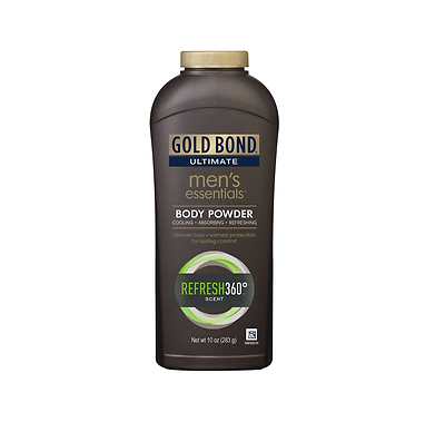 Gold Bond Men's Essentials Body Powder Refresh